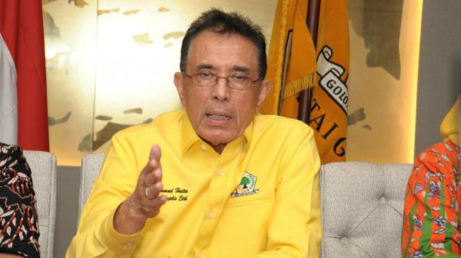 Ketua Majelis Etik Golkar Muhamad Hatta.