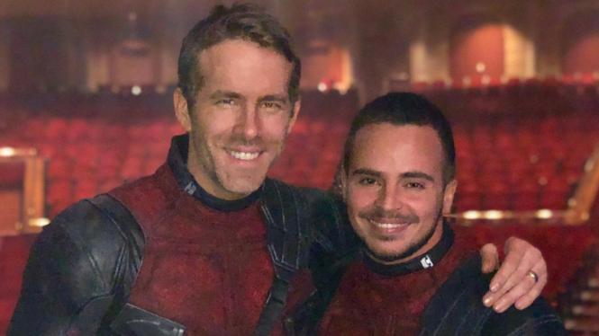 Ryan Reynolds dan Yanis Marshall