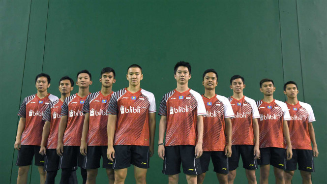 Skuat Indonesia pada Piala Thomas 2018