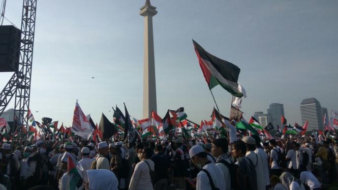 Aksi 115 bela Palestina.