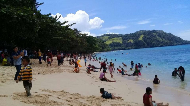 Pantai Pall likupang Sulawesi Utara