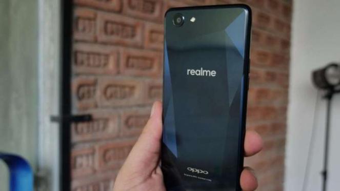 Smartphone Oppo Realme.