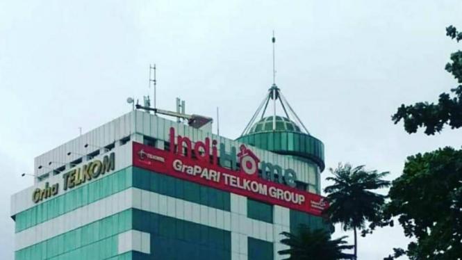 Gedung Telkom Group di Tangerang