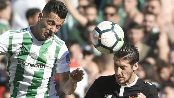 Duel Real Betis vs Sevilla.