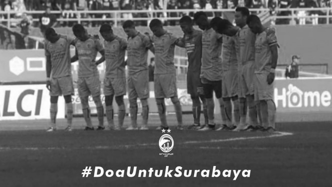 Ungkapan belasungkawa Sriwijaya FC untuk tragedi bom Surabaya