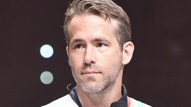 Pemeran Deadpool Ryan Reynolds.