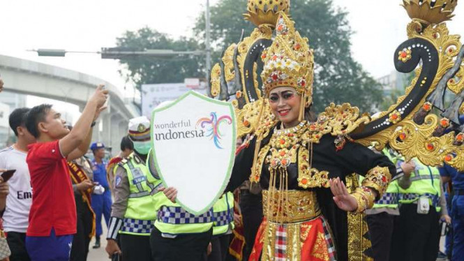 Parade Asian Games 2018.