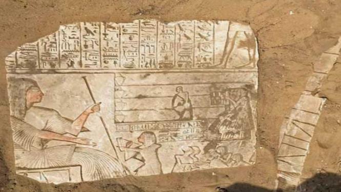 Makam Jenderal Mesir Kuno di Saqqara.