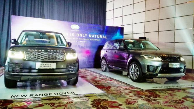Peluncuran Range Rover baru di Jakarta