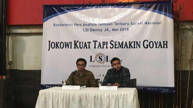 Lingkaran Survei Indonesia.