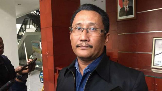 Kepala Bidang Hubungan Masyarakat UPI Bandung, Yuliawan Kasmahidayat, di Bandung, Jawa Barat, pada Senin, 14 Mei 2018.