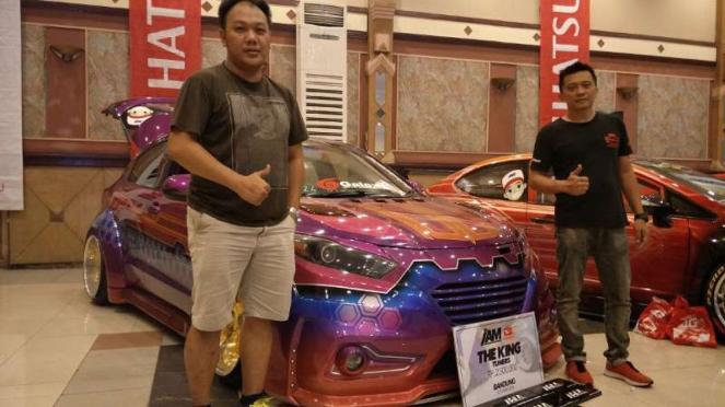 Juara kontes modifikasi Indonesian Auto Modified Bandung