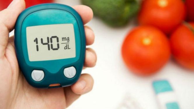 Ilustrasi kadar gula darah tinggi.