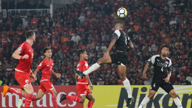 Persija Kalah 3-1 Lawan Home United