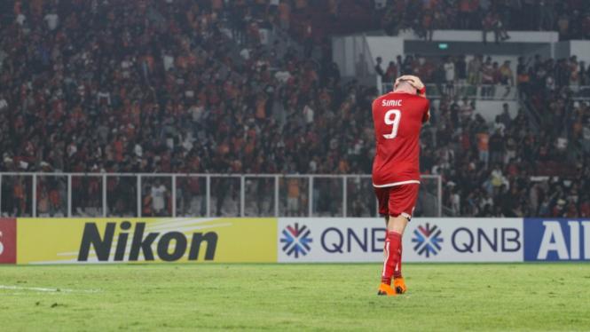 Kekecewaan Pemain Persija Usai Kalah Dari Home United