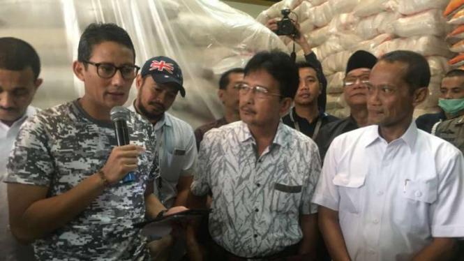Wakil Gubernur DKI Jakarta Sandiaga S Uno.
