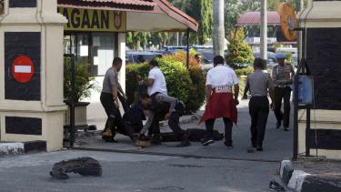 Pelaku penyerangan aksi terorisme di Mapolda Riau