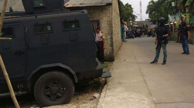 Polisi Tangkap Dua Terduga Teroris di Tangerang