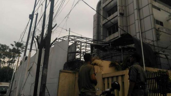 Kondisi Gereja setelah Teror Bom Bunuh Diri di Surabaya