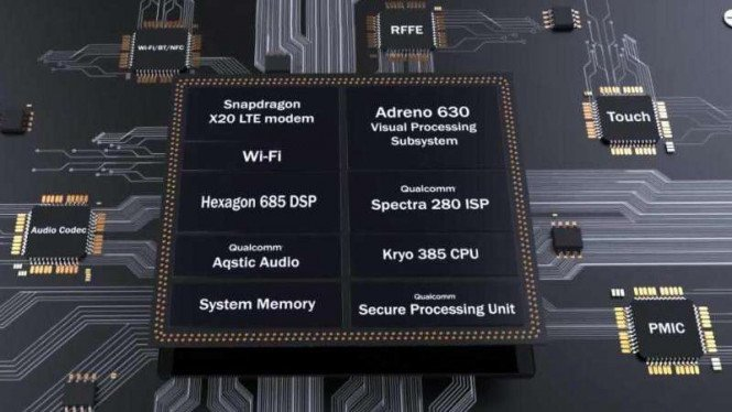 Qualcomm Snapdragon 845.