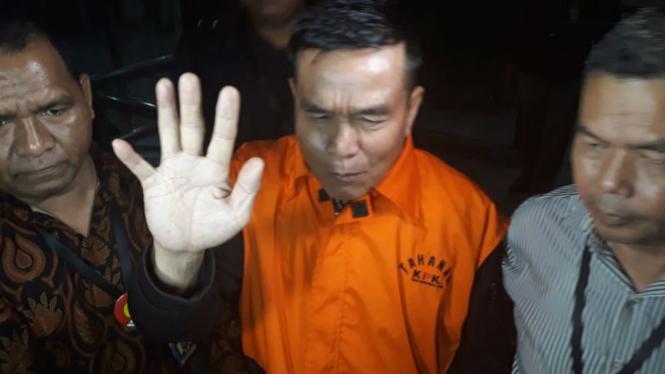 Bupati Bengkulu Selatan, Dirwan Mahmud ditahan KPK