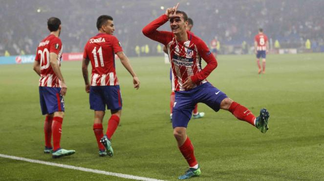 Selebrasi Fortnite ala pemain Atletico Madrid, Antoine Griezmann