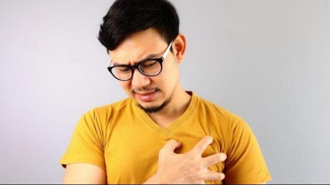 Ilustrasi penyakit kolesterol.