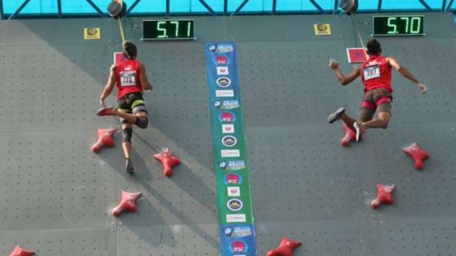 Pelatnas Panjat Tebing Asian Games 2018