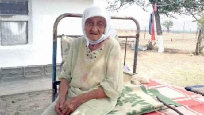 Wanita tertua di dunia.