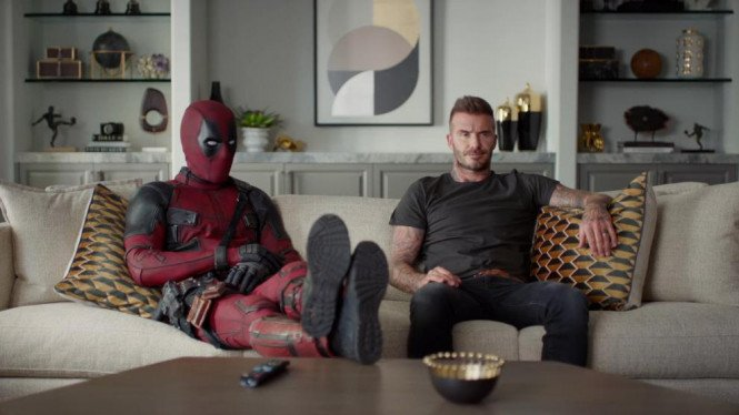 Deadpool dan David Beckham.