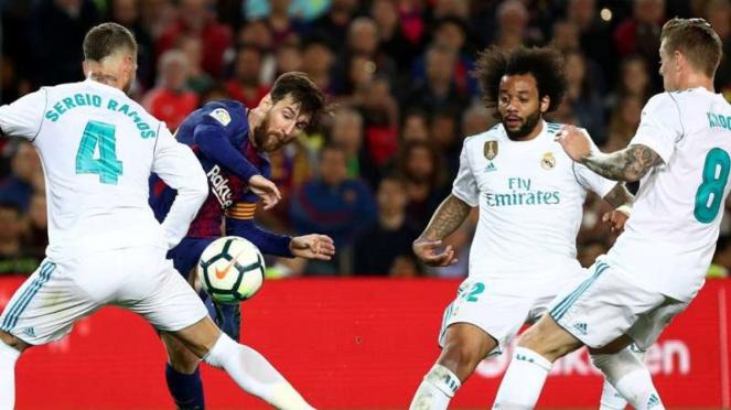 Pertandingan El Clasico antara Barcelona kontra Real Madrid
