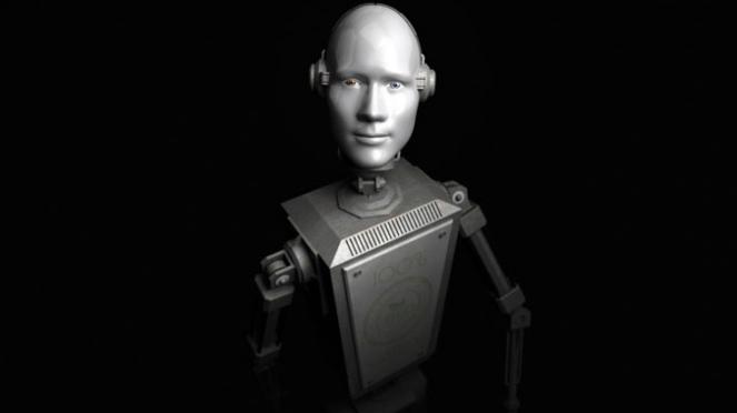 Ilustrasi robot.