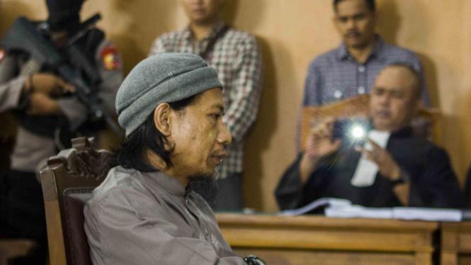 Sidang kasus terorisme Aman Abdurrahman di PN Jakarta