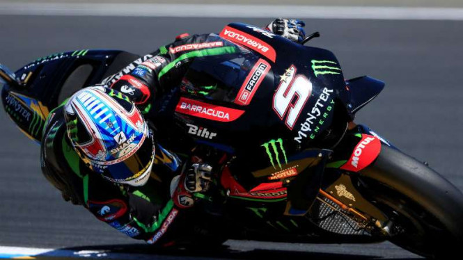 Pembalap Monster Yamaha Tech 3, Johann Zarco.