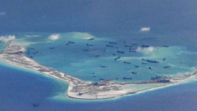 Kepulauan Spratly, Laut China Selatan