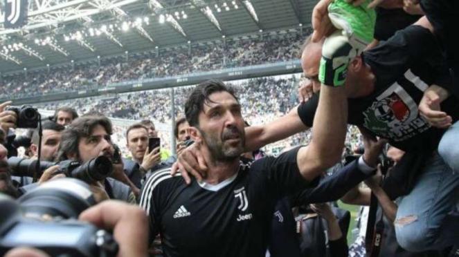Eks kiper Juventus, Gianluigi Buffon.