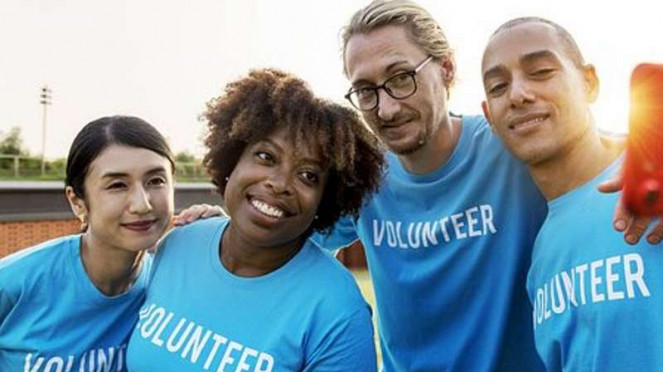 Ilustrasi sukarelawan