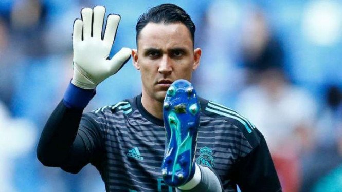 Kiper Real Madrid, Keylor Navas.
