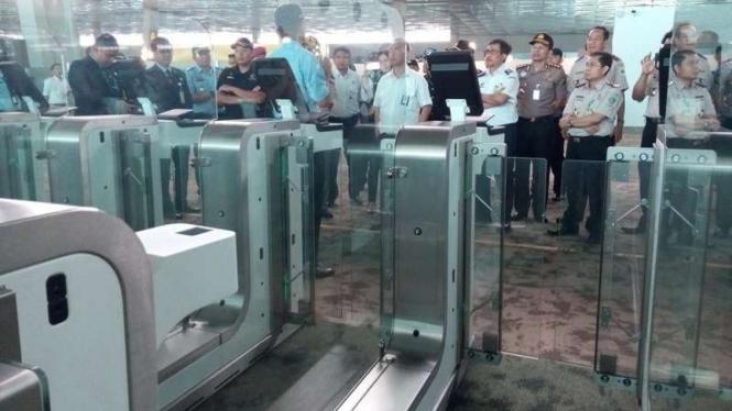 Imigrasi Bandara Soetta Siapkan 30 Automatic Gate
