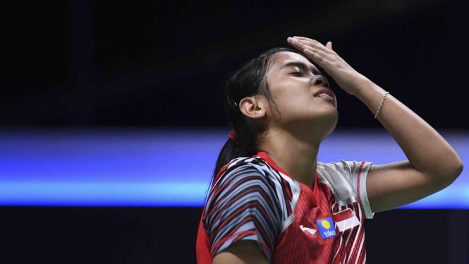 Pebulutangkis tunggal putri Indonesia, Gregoria Mariska Tunjung.