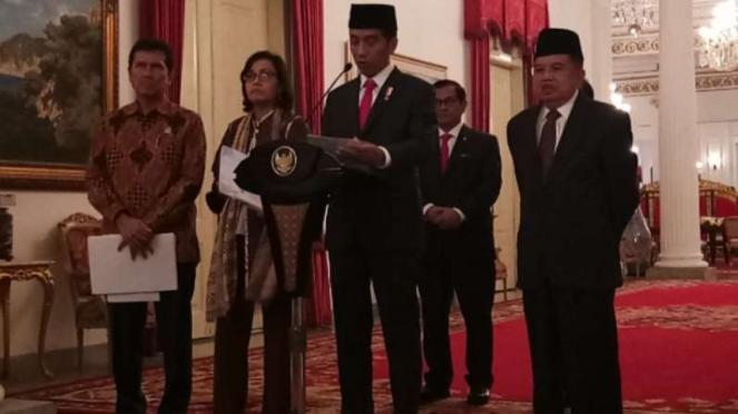 Jokowi terbitkan PP THR, Rabu, 23 Mei 2018.