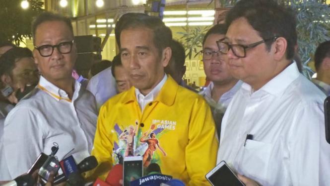 Presiden Joko Widodo (kuning)