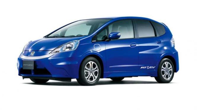 Honda Jazz versi listrik.