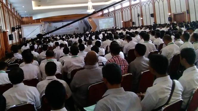 3500 petugas haji mengikuti pelatihan
