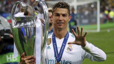 Megabintang Real Madrid, Cristiano Ronaldo