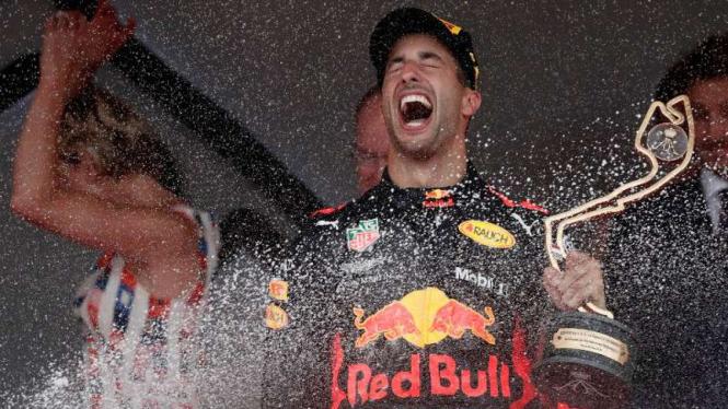 Pemballap Red Bull Racing, Daniel Ricciardo.