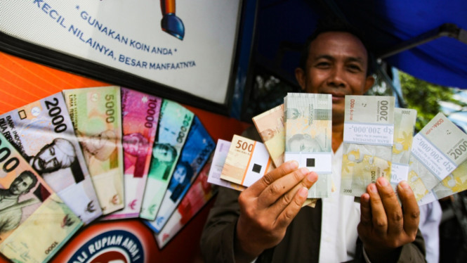 Penukaran Uang Jelang Lebaran