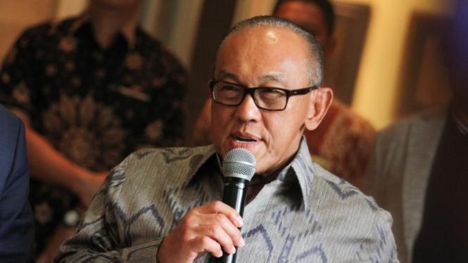 Ketua Dewan Pembina Golkar Aburizal Bakrie