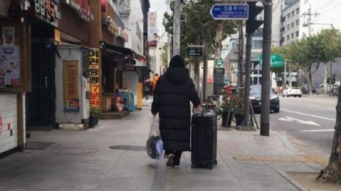 Ilustrasi lokasi di Korea.