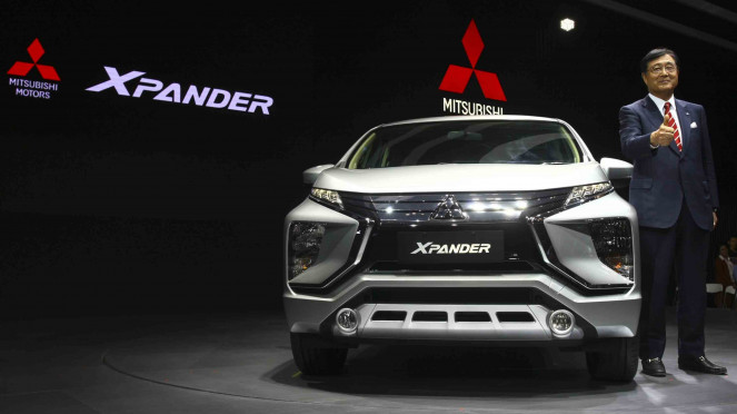 Sorot Mobil Mudik - Mobil Mitsubishi XPANDER pada Gaikindo Indonesia Internasional Auto Show (GIIAS) 2017